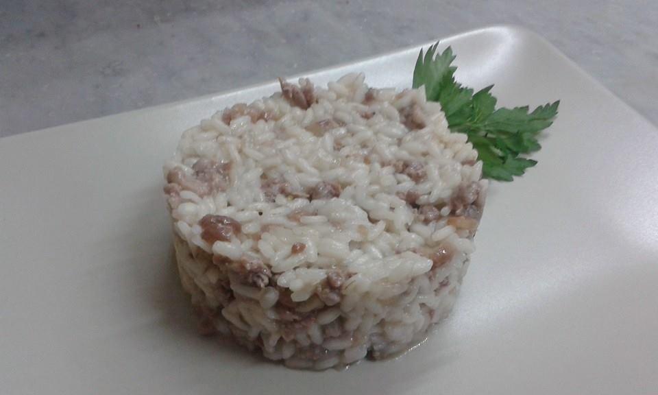 risotto salsiccia e castagne