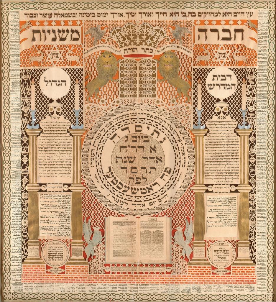 Baruch_Zvi_Ring_-_Memorial_Tablet_and_Omer_Calendar_-_Google_Art_Project