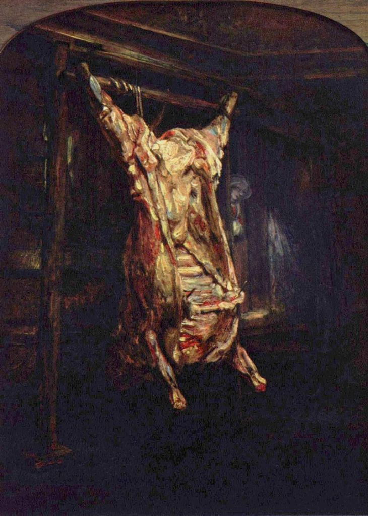 Rembrandt Bue macellato