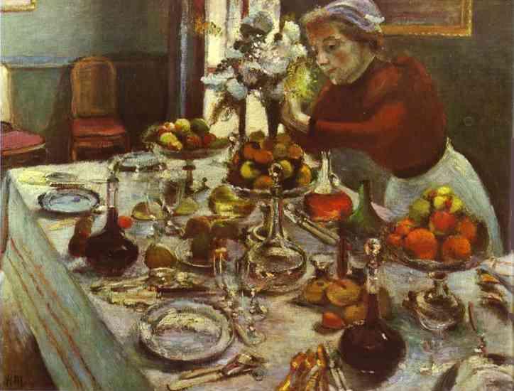 Il tavolo della cena Matisse