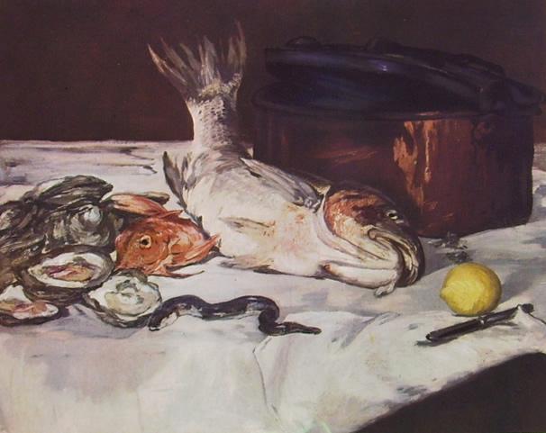 74-manet-natura-morta-con-pesci-e-ostriche